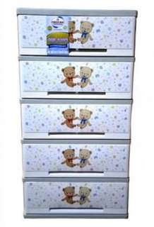 Orocan Milano 5 Layer Drawer  Design: Kiddie