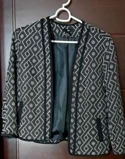 Pre-loved H&M Printed Blazer