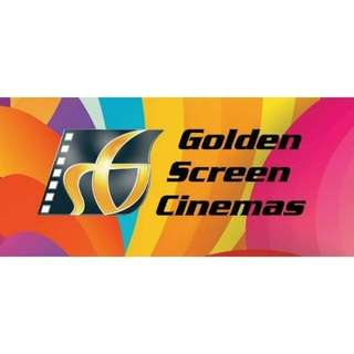 GSC golden screen cinema movie ticket