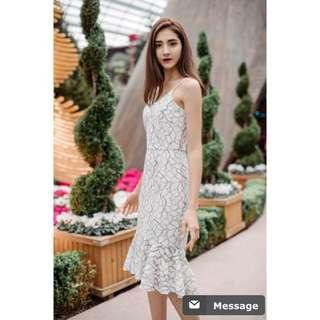Thread Theory Maple Vanilla Dress size XS