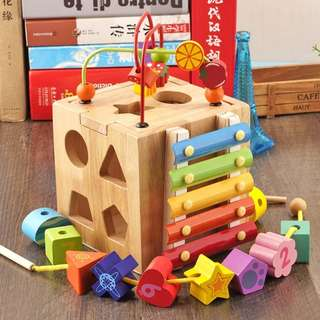 Wooden toys to explore your kids thinking