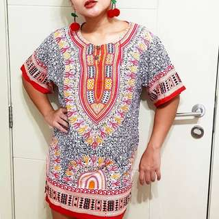 Indonesian Unisex Dashiki