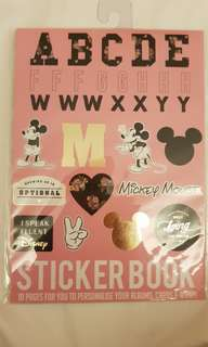 TYPO DISNEY STICKER BOOK