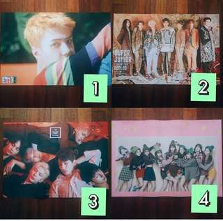 [READYSTOCK]Kpop Poster