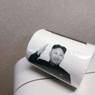 🚚 金正恩惡搞衛生紙