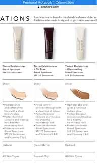 Laura Mercier tinted moisturizer | PO SG eta 2 June