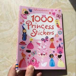 Usborne Activities sticker book