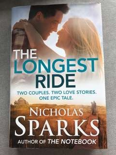 [hardcover] the longest ride by nicholas sparks