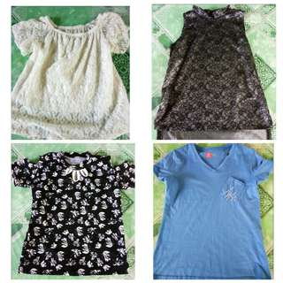 Blouse shirt (4pcs)