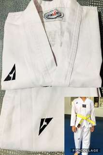 Preloved Taekwondo Uniform (Dobok-Peak)