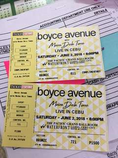 Boyce Avenue Concert with Moira