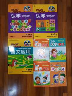 Brand New Chinese Assessment Books for Kindergarten
