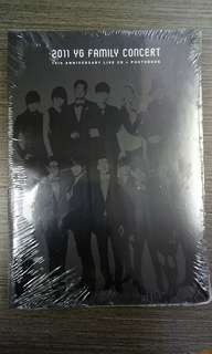 2011 YG Family Concert Live 15th Anniversary (2CD+Photobook)