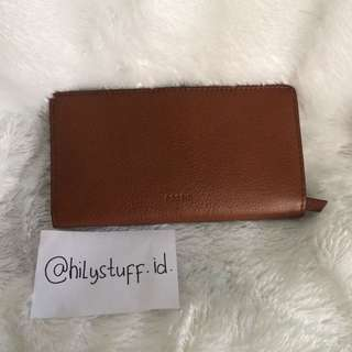 #mausupreme fossil long wallet