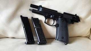 WE 古早92FS 退膛氣槍 當零件賣