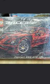 🔥Clearance🔥Super Rare!!! Sealed, New, Authentic!!! Lego 8145 Ferrari 599 GTB Fiorano, Technic