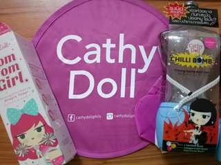 Cathy Doll Chili Bomb Sauna Gel and Under Arm Toner