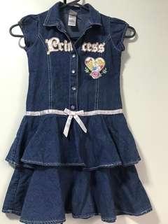 Disney denim dress