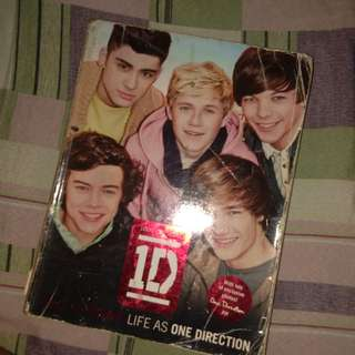 LIFE AS ONE DIRECTION OFFICIAL BOOK