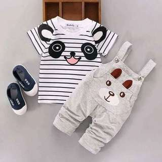 💰🅿 360  ✅KIDS 2 IN 1 ROMPER  ✅NICE QUALITY ✅FREESIZE FIT 3 -7 YRS OLD *sj