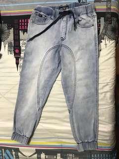 SALE! SALE! Jogger pants acid wash (5-10yo)