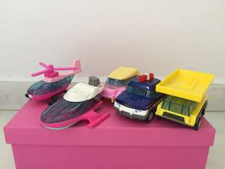 Giving away free McDonald's Happy Meal Cars