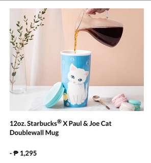 Starbucks x Paul and Joe Double Wall Ceramic mug