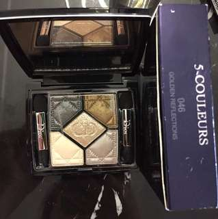 Dior Eyeshadow Palette 5-Couleurs 046 Golden Reflections