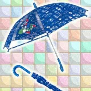 日本景品 馬里奥 Super Mario 兒童卡通雨傘