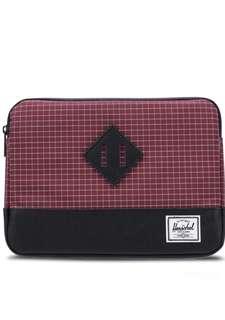 Herschel Supply Co. Heritage iPad Air Sleeve Windsor Wine Grid