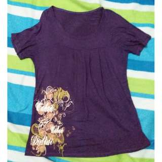 Trapeze Purple Top