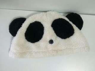 🚚 熊貓毛帽