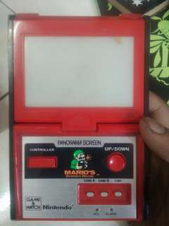 Mario PANORAMA SCREEN 1983 nintendo made in japan