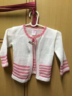 Under Knitted Pink Jacket