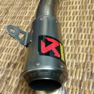 Akrapovic exhaust ekzos(original) for Yamaha yzf R25