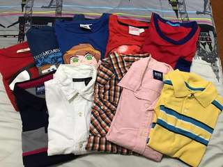 SALE! SALE!Take any 3 tshirts for 320, take any 3 polo for 400, take all for 1000