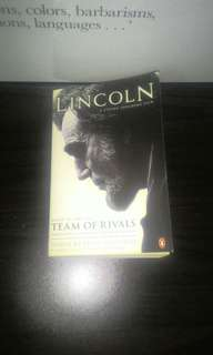 Lincoln: Team of Rivals
