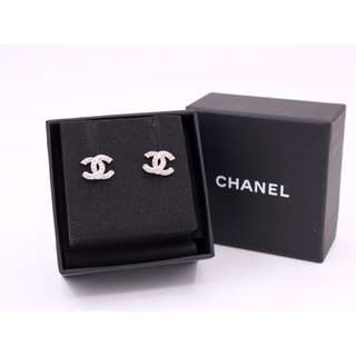 (NEW) CHANEL A45628 Y0200 CC CRYSTAL METAL EARRINGS 全新 耳環