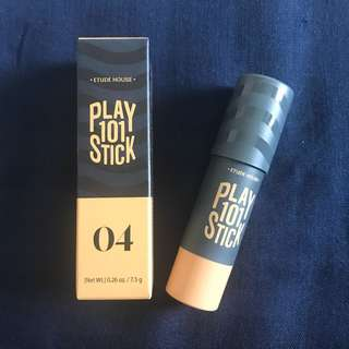 Etude House Play 101 Foundation stick No. 4