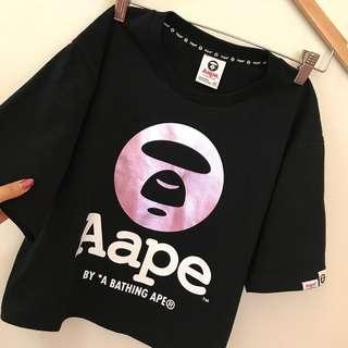🚚 AAPE短版雷射紫光上衣