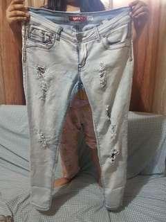 Hot Kiss Tattered Pants (Size 30)