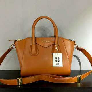 Givenchy Antigona Mustard Yellow Color