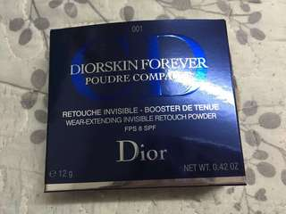 Dior's kin Forever Wear-extending Invisible Retouch Powder 粉餅 001