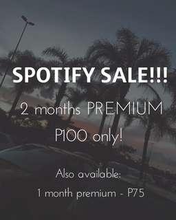 SALE! Spotify Premium