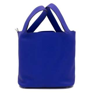 (NEW) HERMES PICOTIN LOCK TAURILLON CLEMENCE 26 TOTE BAG PHW 全新 手袋 藍色