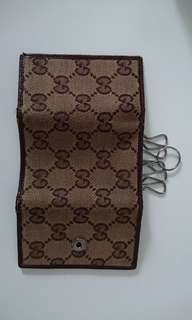 Gucci Canvas Key Pouch