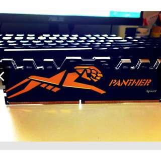 大特價🉐️ Apacer PANTHER DDR4-2666 16GB 8x2 電競記憶體模組