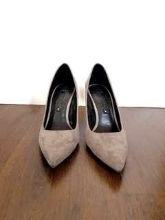 Suede Pointy Zara Heels