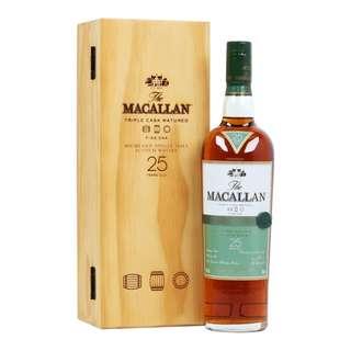 麥卡倫25年像木桶純麥威士忌 Macallan 25 years Fine Oak