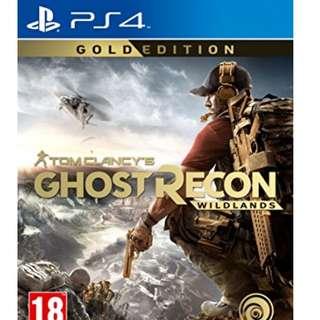 Ghost Recon Wildlands - GOLD Edition - Brand New